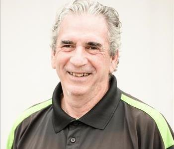 Male Grey Haired SERVPRO Employee